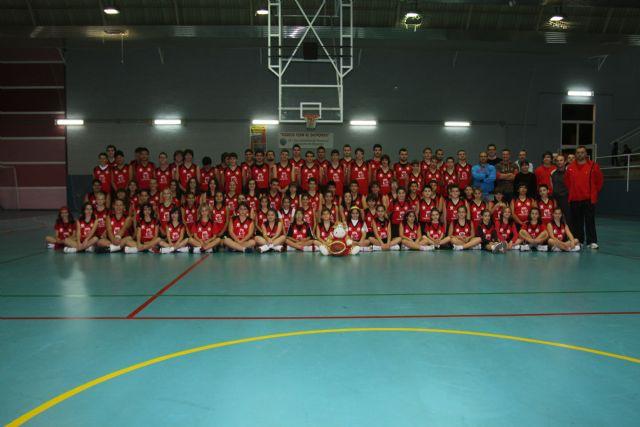 Los equipos del C.B. Mazarrón basket se presentan ante la afición - 1, Foto 1