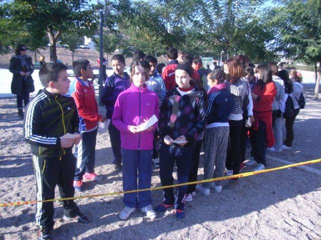 170 school children participated in the Orientation Day School Sports