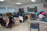 Prosigue en Las Torres de Cotillas tras las Navidades el curso de gestión de salarios y seguros sociales para desempleados