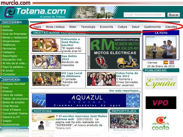 New blog theme Totana.com