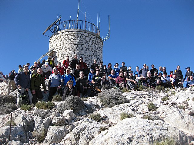 """On Sunday January 22 occurred in the Regional Park of Sierra Espuña the 7th """"Rise to Morrón"""""""