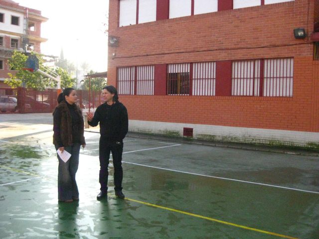 María Dolores Sánchez visita los colegios de la Cordillera Sur - 1, Foto 1