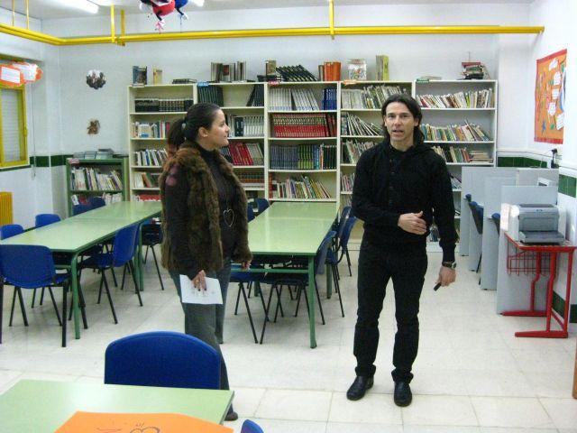 María Dolores Sánchez visita los colegios de la Cordillera Sur - 2, Foto 2