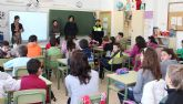 Más de 400 alumnos lumbrerenses participan en la VII 'Campaña de Absentismo Escolar'