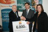 La Fundaci�n de Trabajadores de ElPozo Alimentaci�n dona 6.000 euros a Proyecto Hombre