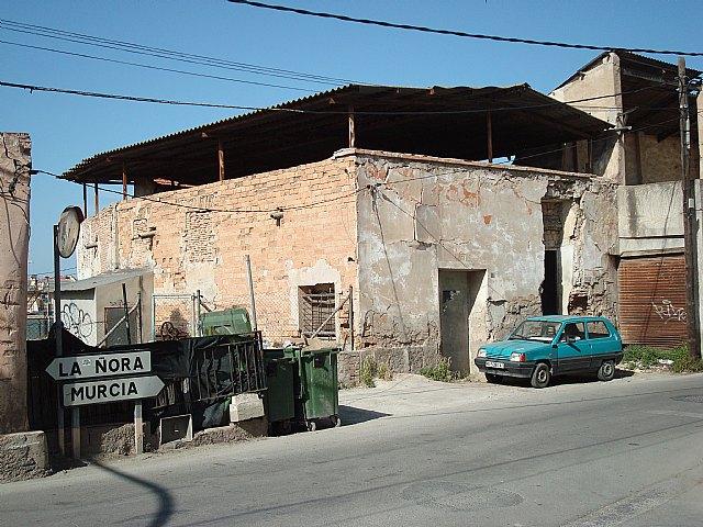 HUERMUR solicita que el Ayuntamiento de Murcia tome medidas urgentes para evitar el derrumbe de edificios históricos en la huerta - 1, Foto 1