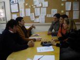 Primera toma de contacto para la puesta en marcha del proyecto 'Seguimiento y control del absentismo y del abandono escolar'