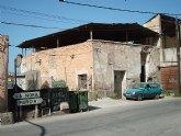 HUERMUR solicita que el Ayuntamiento de Murcia tome medidas urgentes para evitar el derrumbe de edificios históricos en la huerta