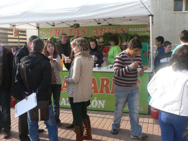 La campaña Almuerzo saludable llega al I.E.S. Felipe II - 2, Foto 2