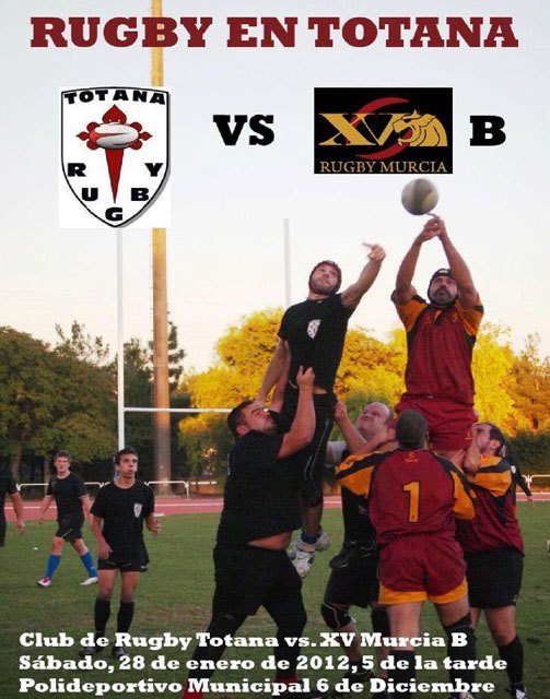 Rugby Club on Saturday faces the XV Rugby Murcia Municipal Sports Center B