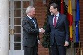 Valcárcel plantea a Rajoy una revisión del actual sistema de financiación que garantice la equidad entre regiones