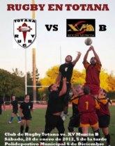 El Club de Rugby se enfrenta mañana sábado al XV Rugby Murcia B en el Polideportivo Municipal