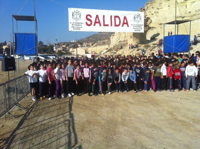 Más de 600 alumn@s participan en la carrera de cross de Deporte Escolar - 1, Foto 1