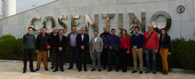 Los asociados de AJE Guadalentín han podido conocer las instalaciones del Grupo Cosentino - 1, Foto 1