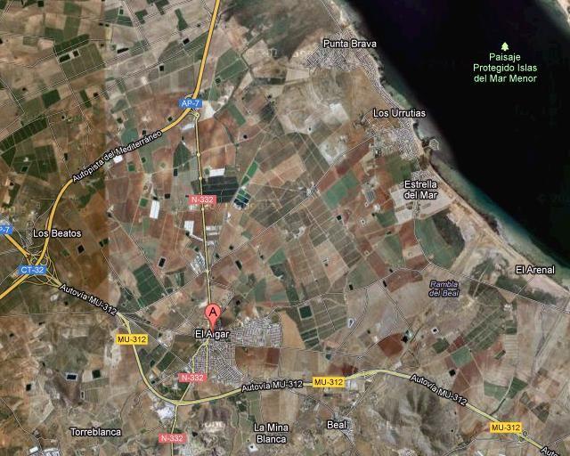Corte de agua en El Algar y Los Urrutias - 1, Foto 1