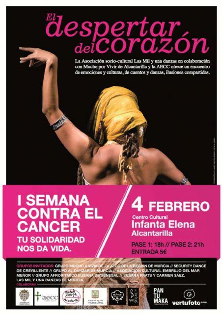I semana contra el cáncer en Alcantarilla, bajo el lema Tú solidaridad nos da vida - 1, Foto 1