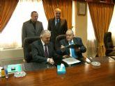 Firman un acuerdo de cooperación con la Camara Oficial de Comercio e Industria de Lorca