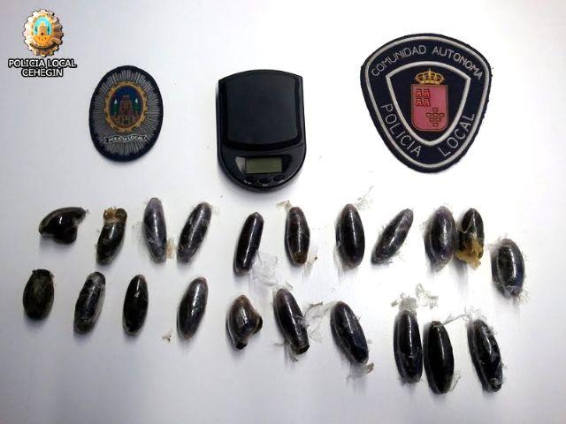Policía Local y Guardia Civil incautan 209 gramos de hachís, destinados al tráfico de drogas - 1, Foto 1