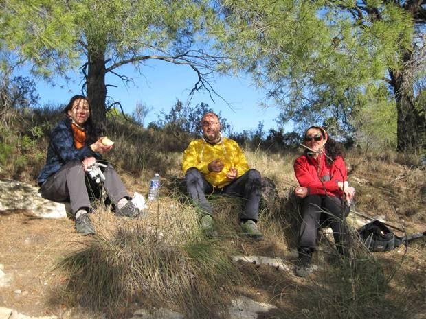 Senderistas se adentran en el corazón del Parque Regional de Sierra Espuña en la última ruta organizada por la concejalía de Deportes - 4, Foto 4