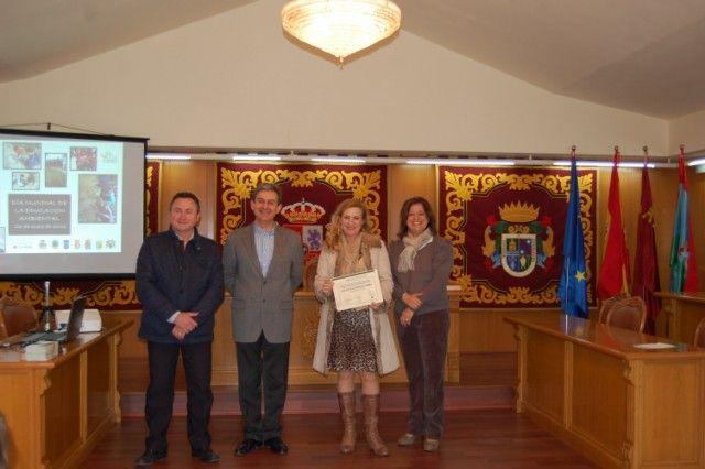 Premian a los colegios de Alguazas por reforestar la Vía Verde - 1, Foto 1