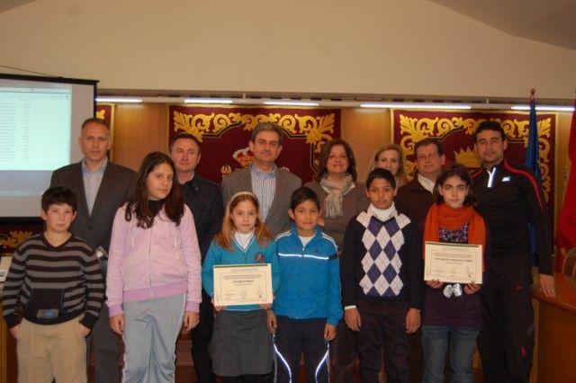 Premian a los colegios de Alguazas por reforestar la Vía Verde - 2, Foto 2