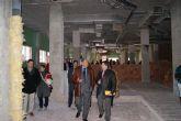 El Ayuntamiento recibe 9.000 m2 de materiales de construcción donados por la firma Saint-Gobain Placo