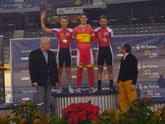 Dos medallas de bronce en los campeonatos de España de ciclismo adaptado en pista