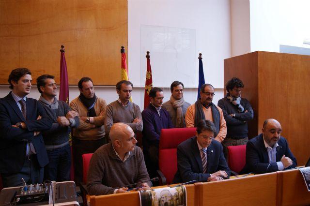 Un grupo de fieles organiza una peregrinación por Lorca dentro de la iniciativa Camino por Santiago - 1, Foto 1