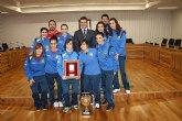 El Ayuntamiento de Torre-Pacheco homenajea al Roldán FSF, campeón de la II Copa Presidente