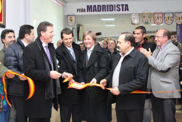 La Peña Madridista de Puerto Lumbreras inauguró su nueva sede - 1, Foto 1