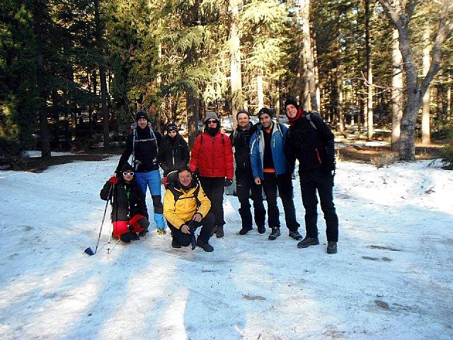 El Club Senderista de Totana realiz� una ruta por la Sierra de Huetor, Foto 1
