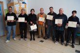 Trabajadores del Centro Especial de Empleo-CEDETO realizan un curso de formaci�n sobre mec�nica b�sica para motocicletas