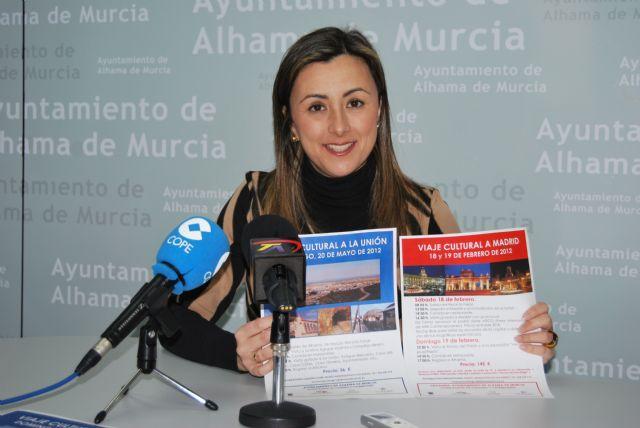 El Ayuntamiento oferta este trimestre dos viajes culturales, uno a Madrid y otro a La Unión, Foto 1