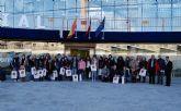 26 escolares franceses, de intercambio en Las Torres de Cotillas