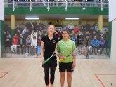 La pinatarense Cristina Gómez se proclama campeona sub 19 de squash en Palencia