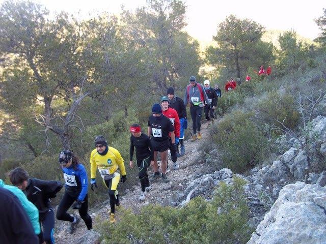 VII race mountain Sierra del Coto