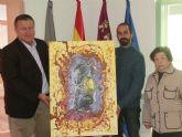 Donación de un cuadro al municipio