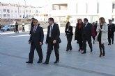 El Delegado del Gobierno en Murcia, Joaquín Bascuñana, visita Torre-Pacheco