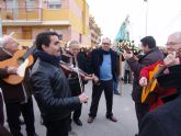 La pedanía murciana de Santa Cruz disfrutó del repertorio de los 'auroros' torreños