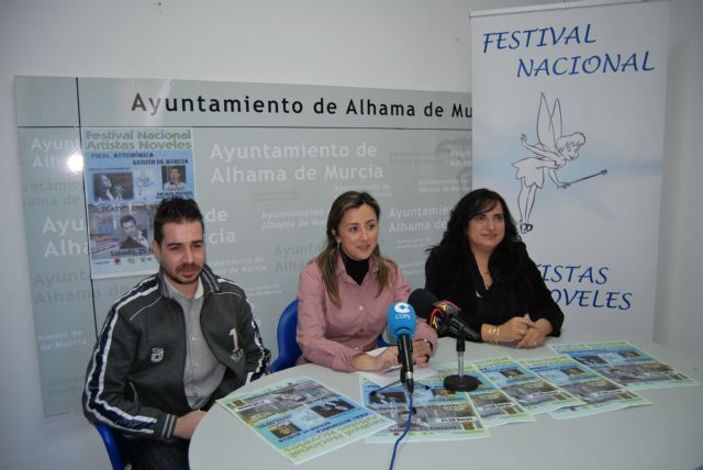 Alhama acoge la primera gala del Festival Nacional de Artistas Noveles, Foto 1