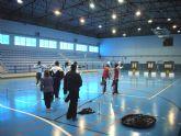 Las jóvenes arqueros murcianos se preparan en Las Torres de Cotillas para el Campeonato de España
