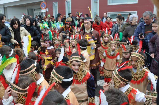 Los colegios de Puerto Lumbreras celebran el Carnaval - 1, Foto 1
