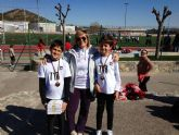 El club atletismo Mazarr�n sigue cosechando �xitos