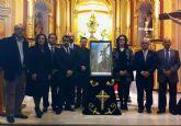 El Cristo Crucificado protagoniza el cartel de la Semana Santa torreña 2012