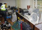 La Guardia Civil detiene a dos personas por la comisión de robos en Cieza