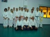 El Club Aikido de Totana organizó varias jornadas en las que algunos de los alumnos fueron examinados para pasar de nivel