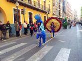 Brillante desfile de carnaval 2012 en Alcantarilla