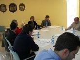 Reunión en Archena de Alcaldes y Concejales del área de la llamada Zona Leader de la Vega del Segura
