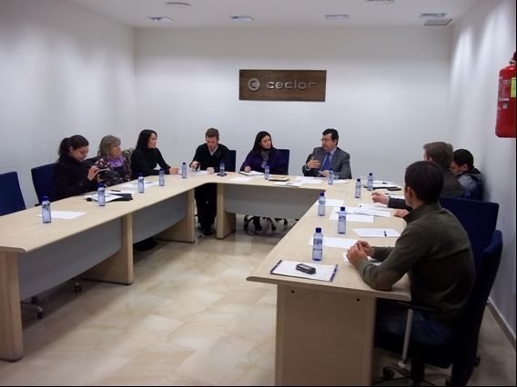 The group Guadalentín Network of Collaborating Entities INFO support the revitalization of tourist routes and online promotion companies