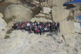 Los jóvenes geógrafos disfrutan de una agradable jornada de estudio en Mazarrón